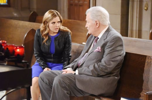 Theresa Confides in Victor - Days of Our Lives