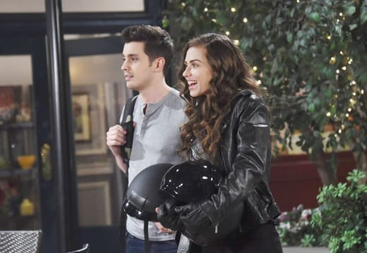 Wyatt Returns to Salem - Days of Our Lives