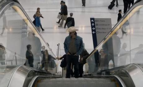 Riding the Escalator - True Detective