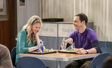 Ramona and Sheldon Have Lunch - The Big Bang Theory Season 10 Episode 24