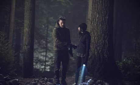 Rocky Terrain - Arrow Season 3 Episode 14