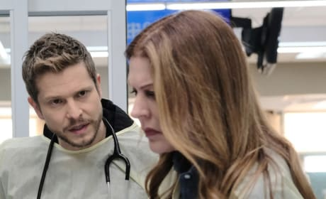 Kit and the Kiddo - Tall - The Resident Season 2 Episode 20