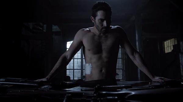 Tyler Hoechlin as Derek Hale - Teen Wolf
