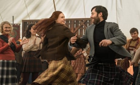 Brianna and Roger Dancing the Scots Dance - Outlander Season 4 Episode 2