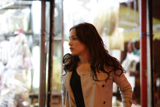 Annie in Hong Kong