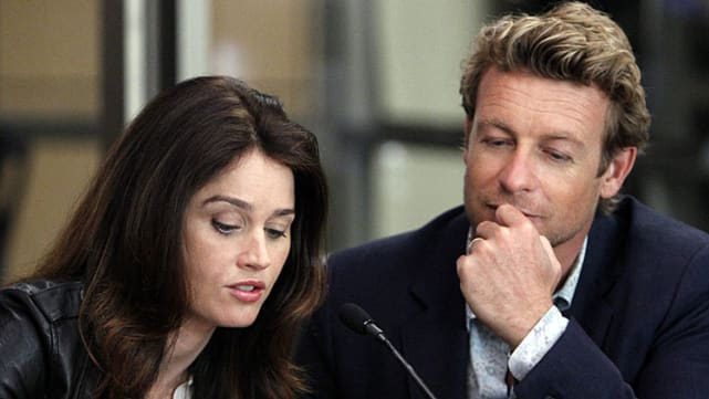 The Mentalist: Patrick Jane and Teresa Lisbon