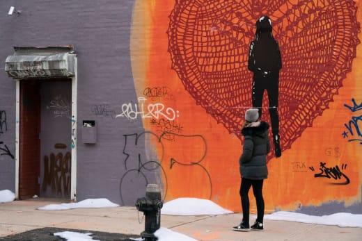 A Mural - The Village Season 1 Episode 9