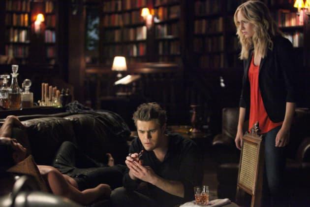 Stefan and Caroline