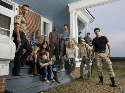 The Walking Dead Cast Photo