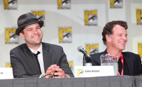 Joshua Jackson and John Noble