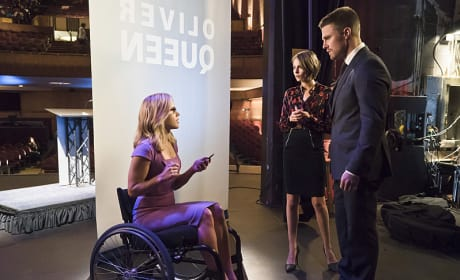 Talking Sense - Arrow Season 4 Episode 14