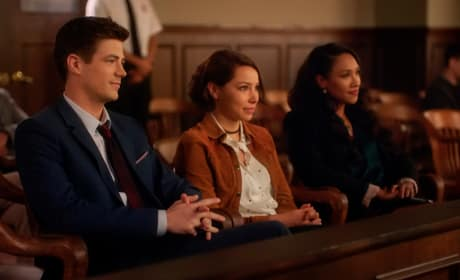 West Allen Family In Court - The Flash Season 5 Episode 10