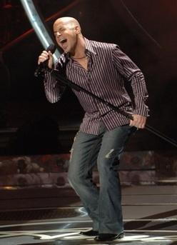 Chris Daughtry on American Idol