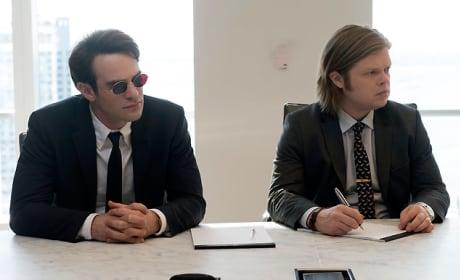 Matt and Foggy as Interns - Daredevil Season 1 Episode 10