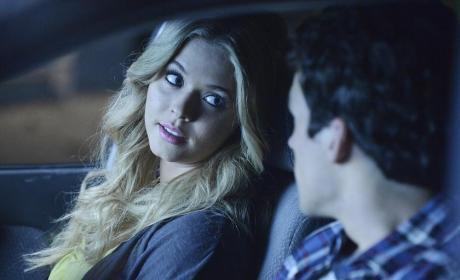 Ali Smiles at Ezra