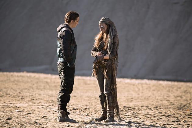 Murphy Meets His Match? - The 100 Season 2 Episode 12