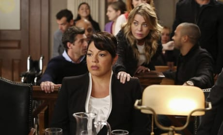 Callie in Court
