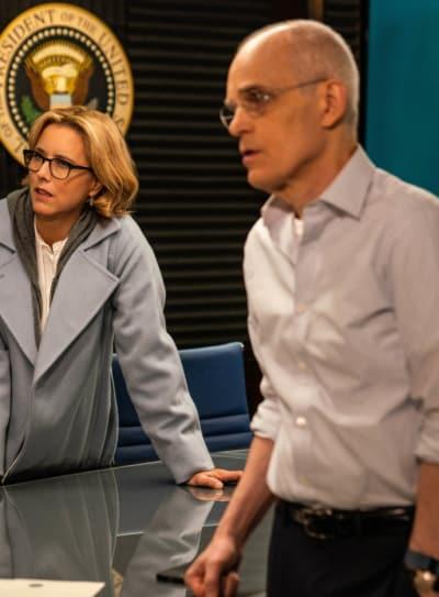 Russell and Bess - Madam Secretary Season 5 Episode 13