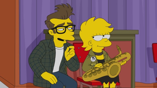 A New Imaginary Friend - The Simpsons