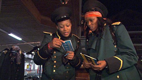 Kisha and Jen Read Their Clue