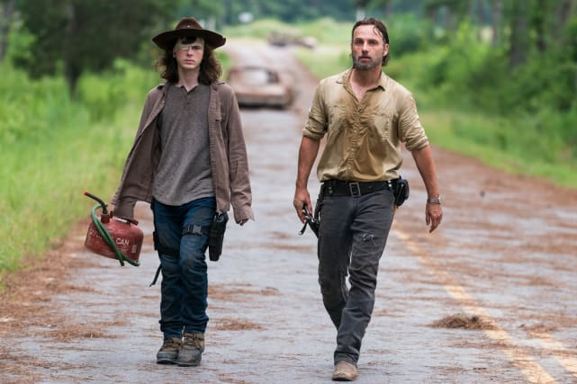 Like Father, Like Son - The Walking Dead Season 8 Episode 8