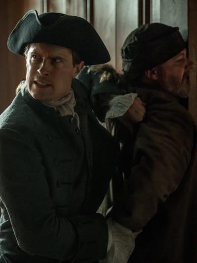 Lord John Growls - Outlander Season 4 Episode 12