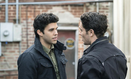 Josh and Aiden Pic - The Originals Season 2 Episode 14