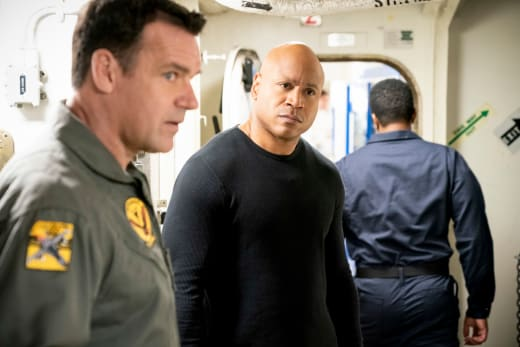 This Does Not Look Good... - NCIS: Los Angeles Season 10 Episode 23