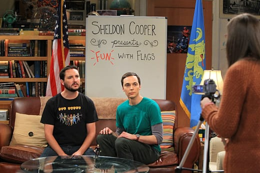 Sheldon In The Middle