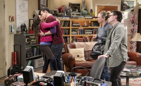 That is Quite a Kiss - The Big Bang Theory Season 10 Episode 13