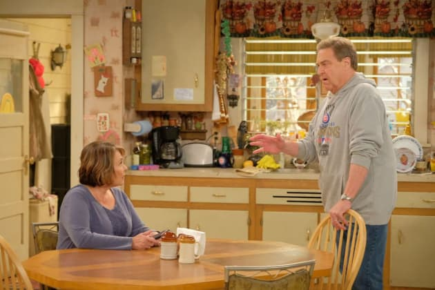 Dan Tries To Explain - Roseanne Season 10 Episode 4