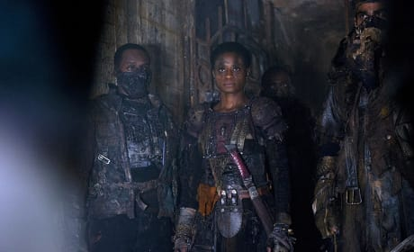 Indra Is Not Happy - The 100 Season 2 Episode 9