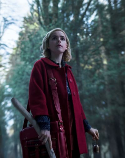 Sabrina Red Riding Witch - Chilling Adventures of Sabrina