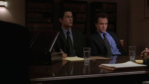 Bad Deposition - The West Wing Season 1 Episode 11