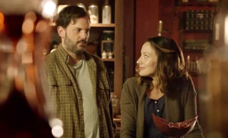 Monroe and Rosalee on Grimm