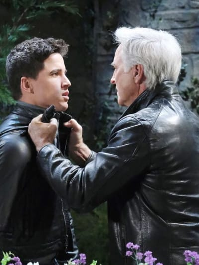 John Threatens Charlie/Tall - Days of Our Lives