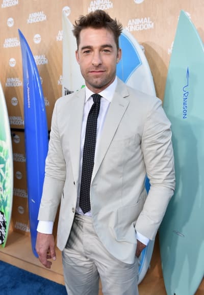 Scott Speedman Attends Premiere