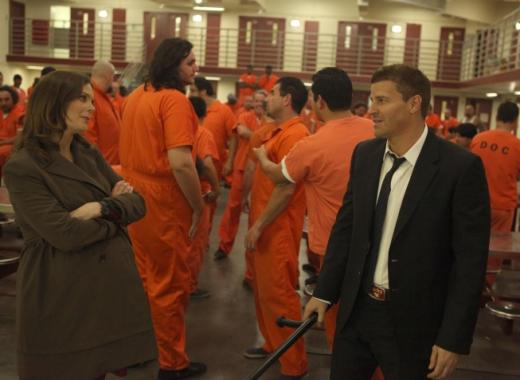 Brennan and Booth in Prison