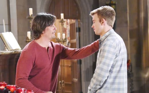 Lucas Sees Will - Days of Our Lives