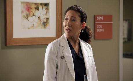Sandra Oh as Cristina Yang Pic