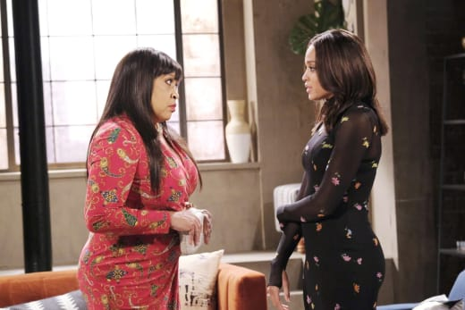 Lani Cuts Paulina Out - Days of Our Lives