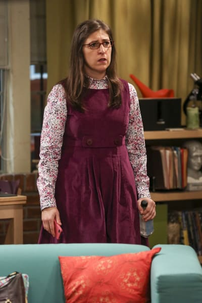 Amy Isn't Happy - The Big Bang Theory Season 10 Episode 16