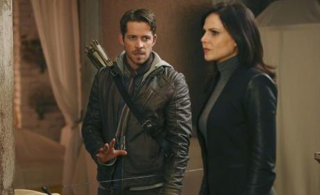 Regina and Robin Won't Be Happy - Once Upon a Time
