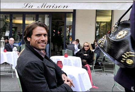 Joshua Morrow in Paris