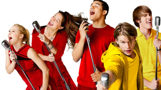 Glee Cast in Action
