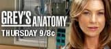 Grey's Anatomy: Thursdays at 9