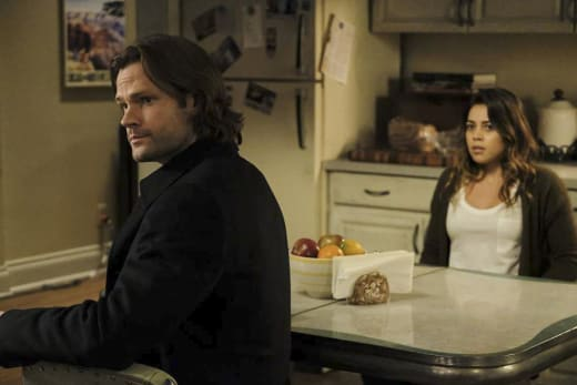 Sam waits for an answer - Supernatural Season 12 Episode 15