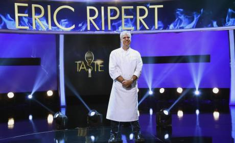 Guest Judge and Mentor Eric Ripert - The Taste Season 3 Episode 2