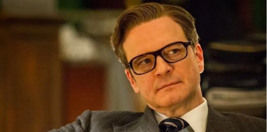 Colin Firth on Kingsman