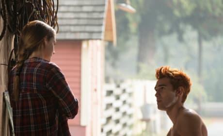 Shirtless Archie (Again) - Riverdale Season 3 Episode 7